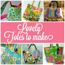 Free Tote Bag Patterns Magnificent Free Tote Bag Tutorials