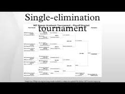10 Team Single Elimination Bracket Single Elimination Tournament Youtube