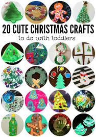 25 Winter And Christmas Crafts For Kids  Week 1Christmas Crafts Toddlers