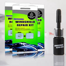 diy car windshield repair kit auto glass windscreen repair tools set