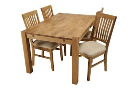 Oak Chairs For Kitchen Table Royal Oak Small Dining Table 4 Dining Chairs Small Dining Sets