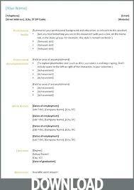 Charming Decoration Microsoft Office Resume Office 2003 Resume