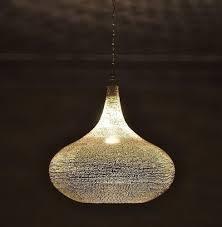nickel moroccan lamp