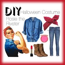 rosie the riveter polyvore