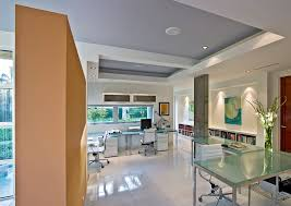 alcove desk ideas home office modern with white wall white office chair recessed ceiling alcove office