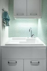 drop in utility sink mint green tiles drop in utility sink menards