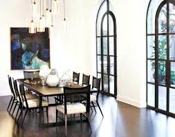 dining roomdelightful glass chandelier lighting for dining room with artistic painting and dark dining standard dining table chandelier height dining room