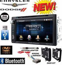 chrysler 300 stereo parts & accessories ebay Power Acoustik Wiring Harness chrysler jeep dodge power acoustik bluetooth double din dvd stereo kit harness (fits power acoustik pd-931nb wiring harness