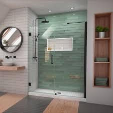 shower doors frameless hinged shower door