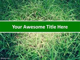 Free Recycling Powerpoint Templates Myfreeppt Com