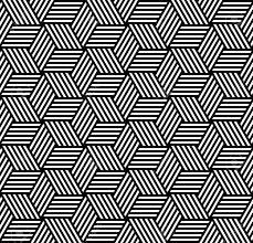 Pattern Vector Enchanting Seamless Geometric Pattern In Op Art Design Vector Art Royalty