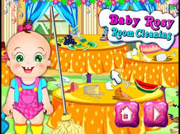 baby room cleaning games. Baby Rosy Games - Room Cleaning Game Video For Little Kids Children E