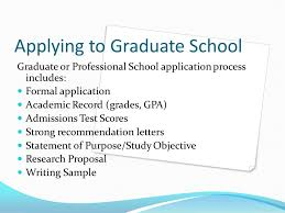 writing scholarship essays for graduate school ppt applying to graduate school