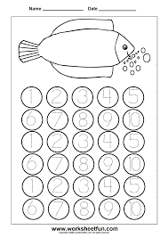 e5527046a5761cc5f40d4b66b568459c tracing worksheets 3 worksheets worksheet 1 1 to 5 1 to 5 on kindergarten printable worksheets