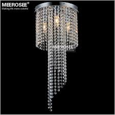 flush mounted crystal lamp fixture vintage chandelier re light bedroom aisle porch lamp hallway crystal re lighting md12102
