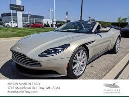 Used 2019 Aston Martin Db11 For Sale At Suburban Exotic Motorcars Of Michigan Vin Scfrmfcw4kgm05286