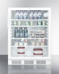 scr600lada glass door refrigerator summit scr600lada