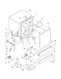 Whirlpool undercounter dishwasher parts model du945 wb0 sears partsdirect