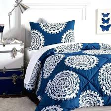 twin xl bed in a bag sets comforters bedding for college medallion deluxe value comforter set