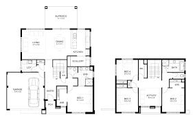 brilliant decoration 2 story house plans wonderful simple floor plan design 24