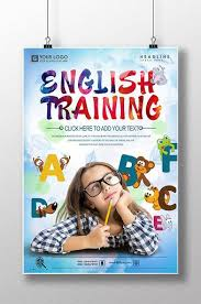 Childrens English Training Poster Design Pikbest Templates