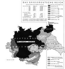 territorial evolution of  territorial expansion of proper from 1933 to 1941 as explained to wehrmacht iers a nazi era map in german
