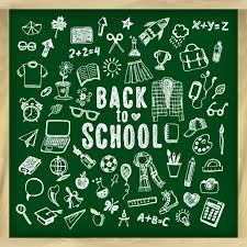 School Chalkboard Background Back To School Chalkboard Background Vector Free Download