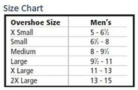 Tingley Overshoes Size Chart Tingley Rubber 35121 Workbrutes Pvc 10 Inch Overshoe With