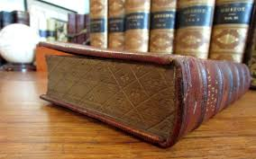 details about gauffered edges leather book binding 1855 england birket foster ilrated