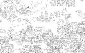 一番欲しい 日本地図 ぬりえ 子供と大人のための無料印刷可能なぬりえ