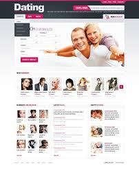 Online Dating Website Design Dating Psd Template 56772 Free Dating Sites Dating