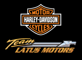 teal ribbon team latus motors harley davidson