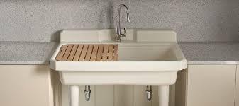 Captivating Utility Sink In Bathroom Sinks Kitchen KOHLER