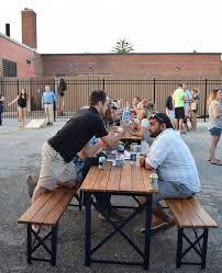 downtown midland welcomes larkin beer garden for opening night