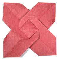 Easy Paper Origami Flower How To Make Origami Paper Flowers