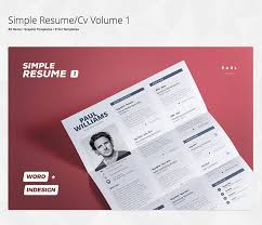 How To Create A Modern Resume In Word Making Resumes In Microsoft Word Envato