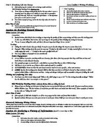 all about writing paper lucy calkins product from kj teaching on  lucy calkins unit 3 breathing life into essays writing workshop cheat sheets each unit