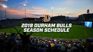 2019 Durham Bulls Schedule Announced Durham Bulls News