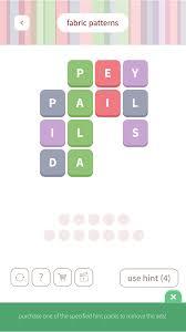Patterns Word Whizzle Unique Design Ideas