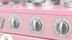 Kidkraft Petal Pink Kitchen Kidkraft Pink Vintage Kitchen 53179 Wooden Toy Kitchen For Kids