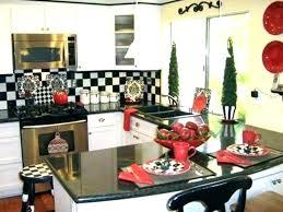 white and black kitchen decor. Beautiful Kitchen Red Kitchen Ideas For Decorating White And Black Decor  In R
