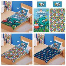 details about octonauts junior toddler cot single bed duvet cover sets reversible bedding