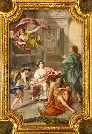 frame painting ornament angel art altar mural picture frame image fresco gilded middle ages mythology modern