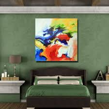 Paintings For Bedroom Decor Online Shop Colorful Palette Kinfe Paintings For Bedroom Decor