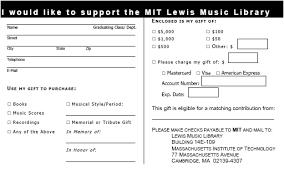 3 4 Donation Form Template Resumete