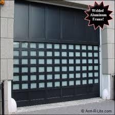 industrial garage doorsCUSTOM CI MODEL Wide Industrial Glass Garage Door  Overhead Glass