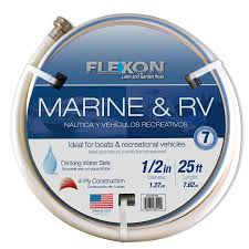 flexon 1 2 in x 25 ft light duty garden hose
