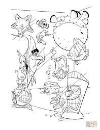 Coloring Pages Finding Nemo Colorings Free Tremendous Printable