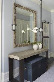 hallway table and mirror. Love The Table And Rest Of Composition, But Chest Underneath Isn\u0027 Hallway Mirror