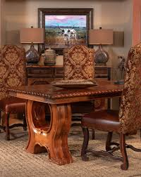 mesquite dining table rustic dining tables custom rustic dining tables custom western dining